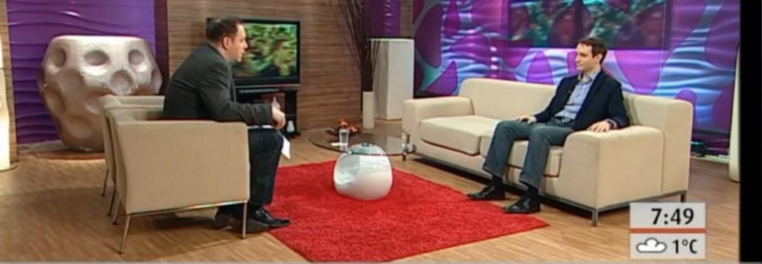 Azbej Tristan a TV2 Mokka című műsorában