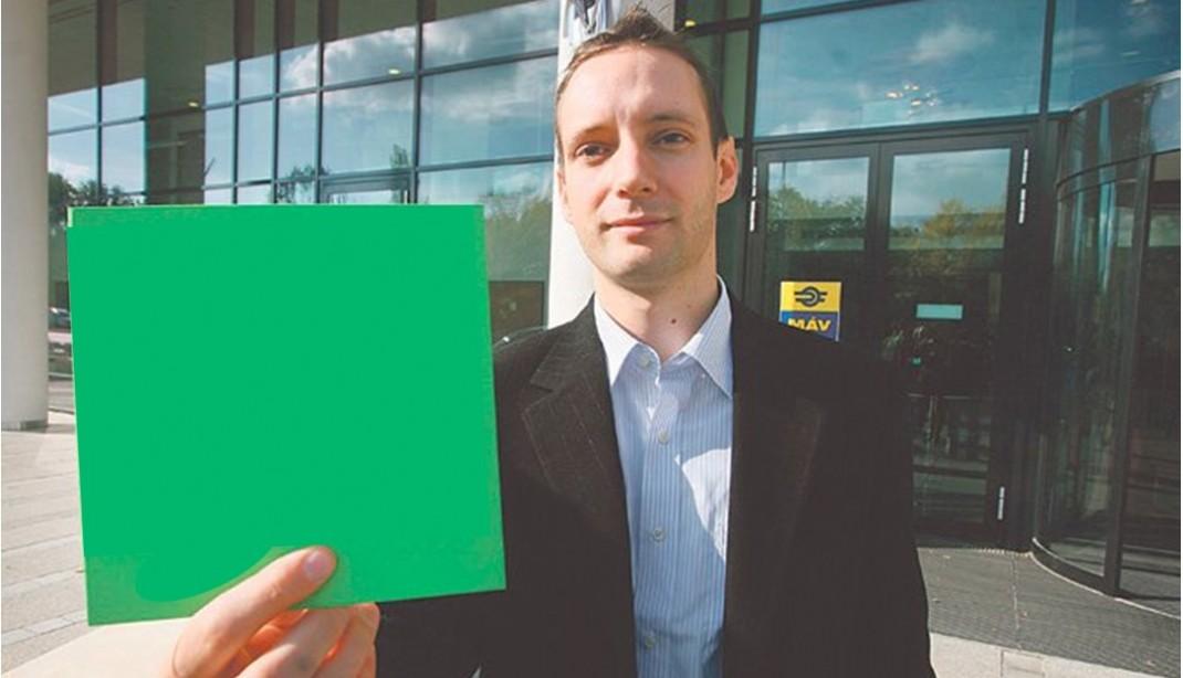 Azbej Tristan környezetvédelmi javaslatcsomagja a MÁV számára